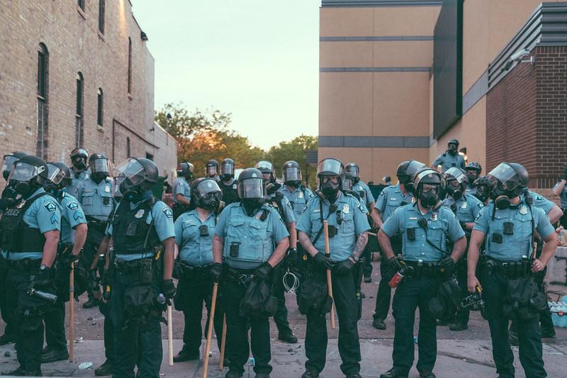 May 27, 2020 8:54pm - Minneapolis Police Third Precinct