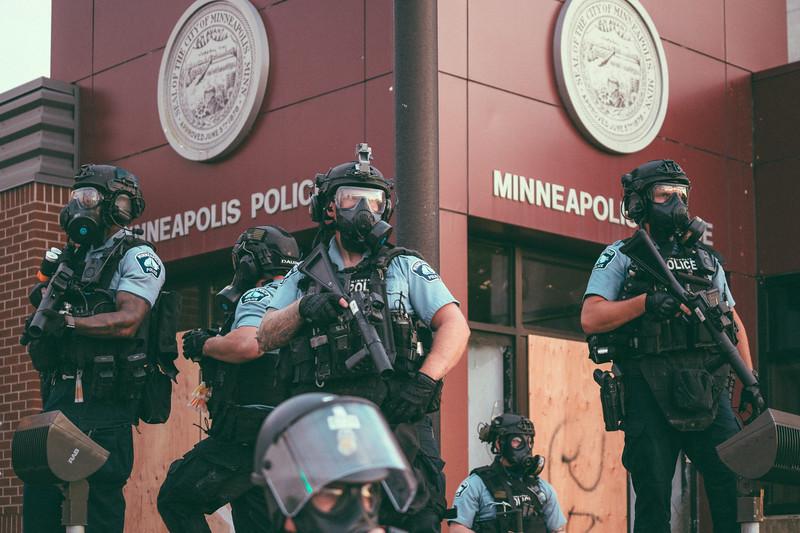 May 27, 2020 8:49pm - Minneapolis Police Third Precinct