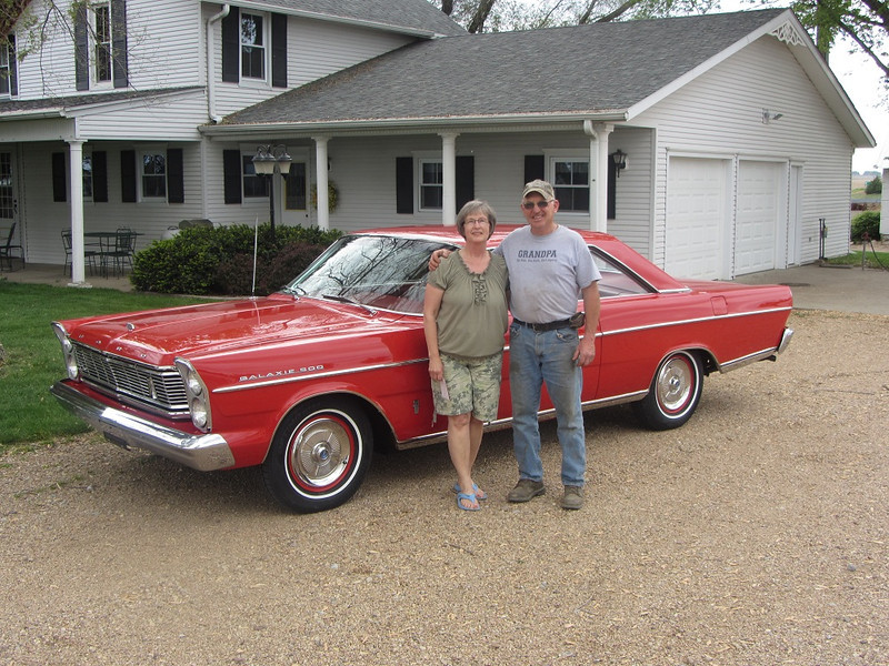 Dale and Arlene trusted us with their 65 Ford Galaxie for body work, paint and refurbishing of areas in the interior. They are the original owners and drove the car on their honeymoon shortly after buying it.