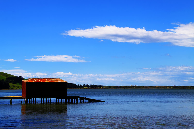 Hooper's Inlet Boat Shed