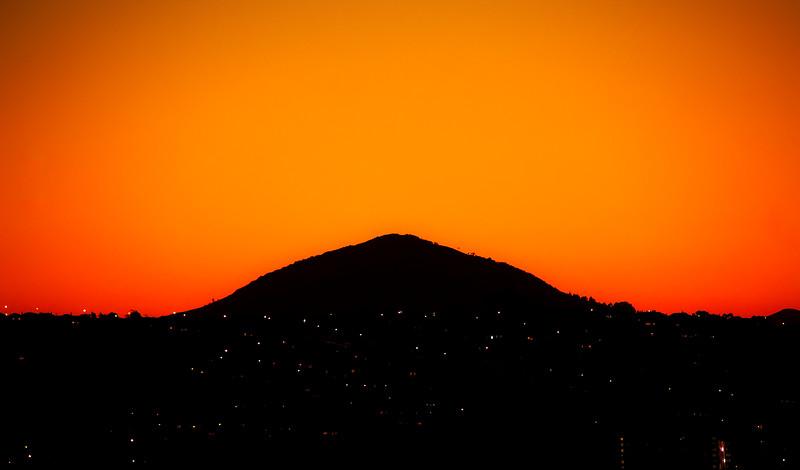 Saddle Hill in Purist Orange