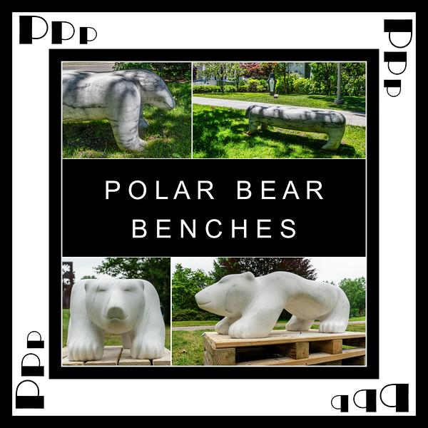 Alphabet Challenge:  P – Polar Bear Benches