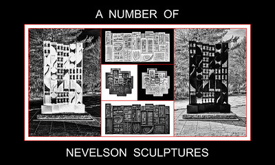 Alphabet Challenge:  N – A Number of Nevelson Sculptures