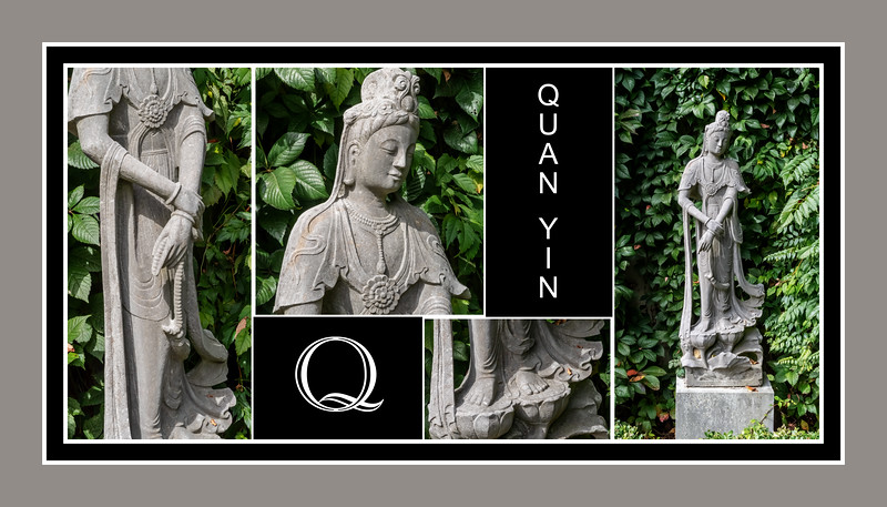 Alphabet Challenge:  Q – Quan Yin