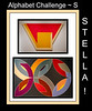 Alphabet Challenge:  S – Stella (paintings)