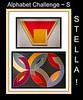 Alphabet Challenge:  S – Stella (paintings)