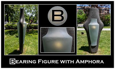 2018 Alphabet Challenge: B - Bearing Figure with Amphora by Howard Ben Tré (sc 2018-6-10)