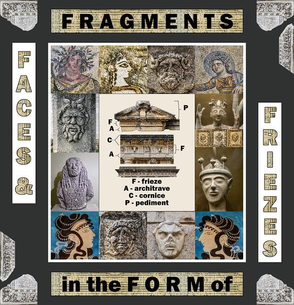 2018 alphabet challenge: F – Faces & Friezes