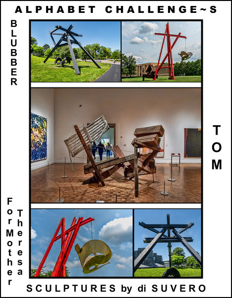 Alphabet Challenge:  S – Sculptures by di Suvero