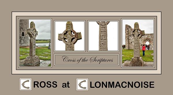 2018 Alphabet Challenge: C - Cross at Clonmacnoise
