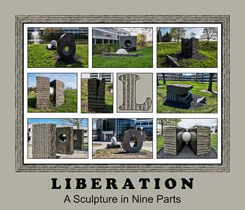 Alphabet Challenge:  L – Liberation, a sculpture