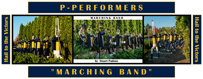 Alphabet Challenge:  P – Performers, Marching Band  (9/15/18)