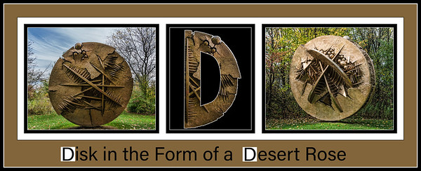 2018 Alphabet Challenge: D - Disk in the Form of a Desert Rose (sc 2018-6-24)