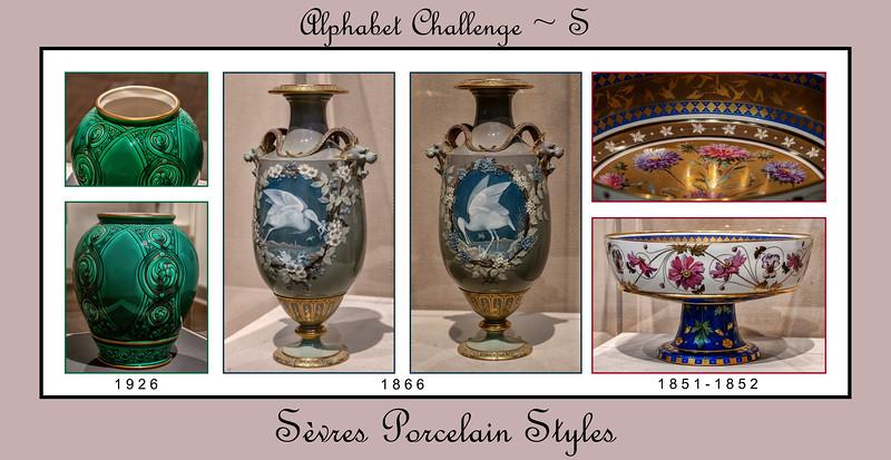 Alphabet Challenge:  S – Styles in Sèvres Porcelain