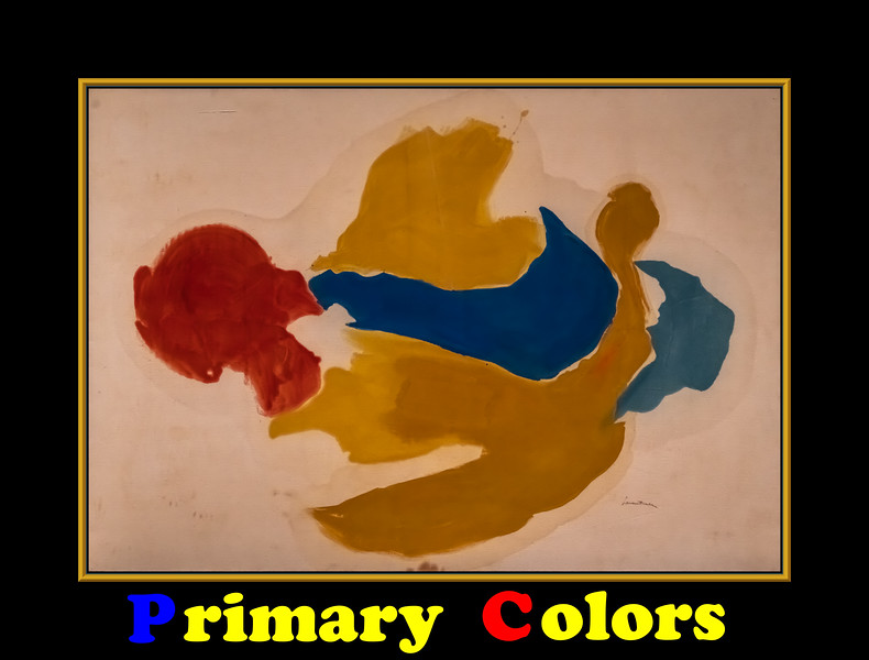 Alphabet Challenge:  P – Primary Colors and Color Perception