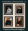 Alphabet Challenge:  U – Unknown portrait subjects