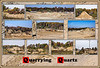 "Donna's Alphabet Challenge: Q (November 3, 2013)<br /> <br /> The quartz referred to in the montage is silica-rich sand.<br /> <br /> DP307-2013  Posted November 3; created November 2 from photos taken October 29 and 30.<br /> Full resolution uncropped shots for the frames in the montage, plus a few other views, are available here:  <a href=""http://arctangent.smugmug.com/Nature/The-Physical-World/Quarries/33185308_Mrfpnt"">http://arctangent.smugmug.com/Nature/The-Physical-World/Quarries/33185308_Mrfpnt</a><br /> <br /> In addition to being justly famous for its production of iron and copper ores, Michigan is one of the richest states in terms of commerically important deposits of a variety of non-metallic minerals.  Sands that meet the special criteria for making glass, and making foundry molds, are especially noteworthy in connection with the subject of this montage.  Although those types of sand are not quarried in Washtenaw and its immediately neighboring counties, there are numerous quarries that produce the construction grade sand we're all familiar with.  I visited two such, but prefer not to name them.  Even though both claim that the public is welcome, I was, in fact, told to leave the property in both cases.  Maybe they thought I was planning some future terrorist attack.  I tried to select a variety of images that give you a sense of what a sand quarry looks like, and that show some of the equipment for digging, sorting, and transporting the sand."