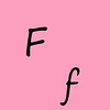 Letter F 00