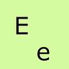 Letter E 00