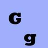 Letter G 00