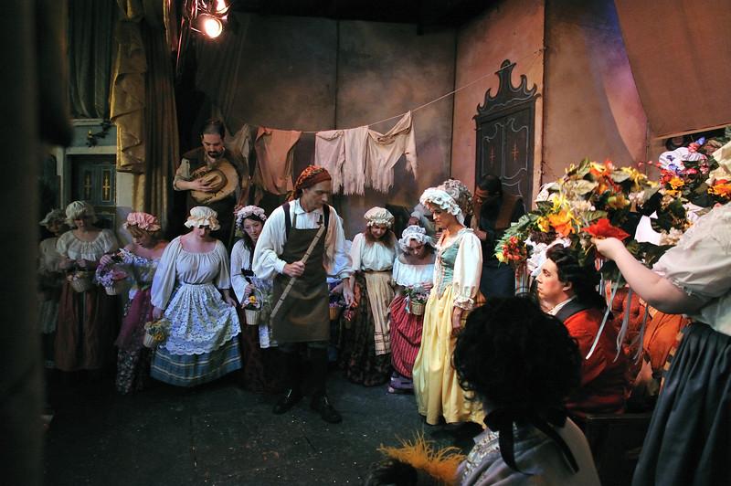 The Marriage of Figaro, Mozart.<br /> Amato Opera Theatre, New York City<br /> © Laura Razzano