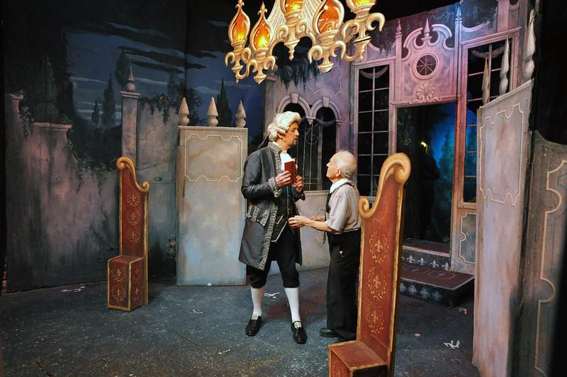 Garth Taylor and Maestro Anthony (Tony) Amato <br /> Amato Opera Theatre, New York City<br /> © Laura Razzano