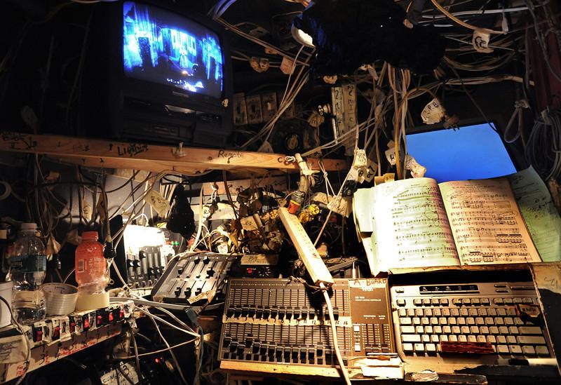 Lighting Board<br /> Amato Opera Theatre, New York City<br /> © Laura Razzano