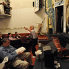 Maestro Tony Amato teaching the score.<br /> Amato Opera Theatre, New York City<br /> © Laura Razzano