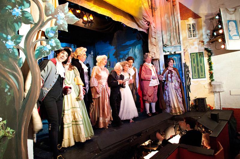 Last curtain at the Amato Opera Theatre after 61 glorious years.<br /> Amato Opera Theatre, New York City<br /> © Laura Razzano