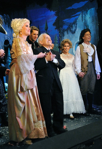 Amato Opera closed after its last performance of The Marriage of Figaro on May 31, 2009.<br /> Amato Opera Theatre, New York City.<br /> © Laura Razzano