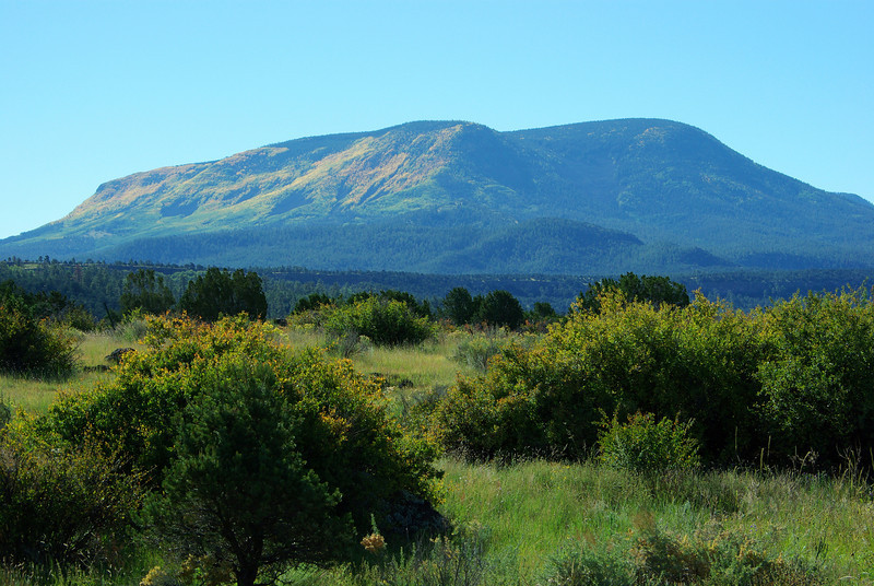 Escudilla Mountain from the northwest (Sep 2007)