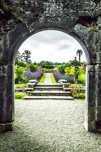 Dromoland Garden Entrance