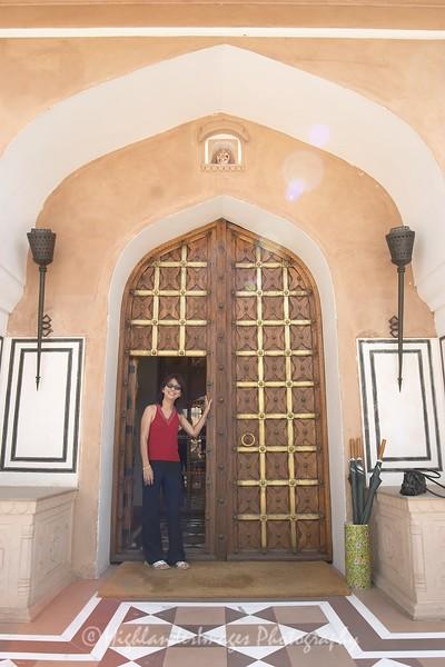 Door in Jaipur, India