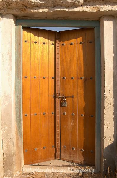 Arabic door, United Arab Emirates