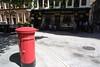 Post box in London