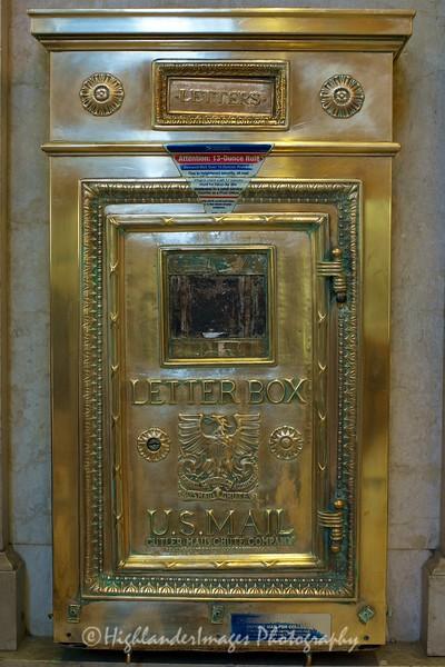 US Post Box, Grand Central, New York