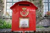 Post Box in Brussels, Belgium