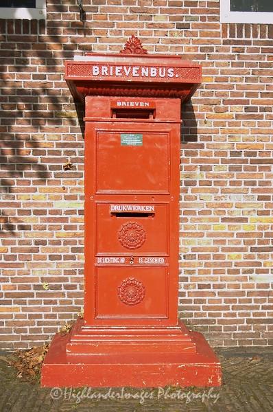 Dutch post box, Holland