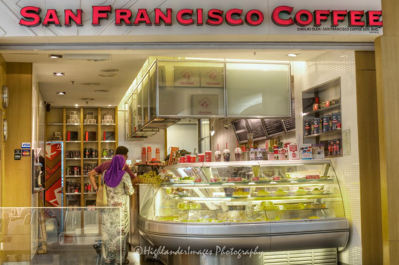 San Fransisco Coffee, Suria KLCC, Kuala Lumpur