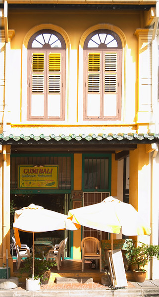 Singapore shophouse windows