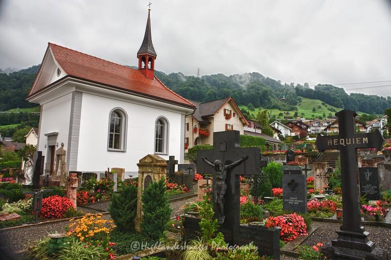 Beckenried, Lake Lucerne, Switzerland