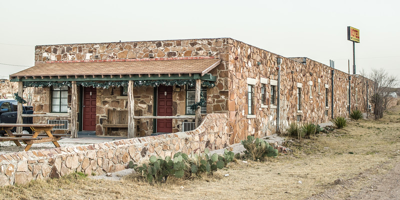 Sierra Blanca Historic Lodge, Sierra Blanca, TX (Feb 2019)