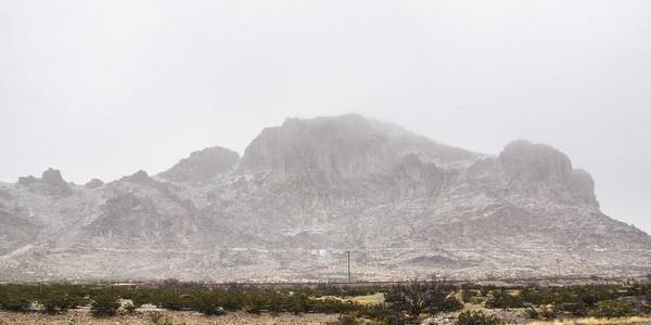 Mountains north of I-10, eastern AZ (Feb 2019)