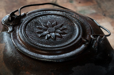 Flower Iron Kettle