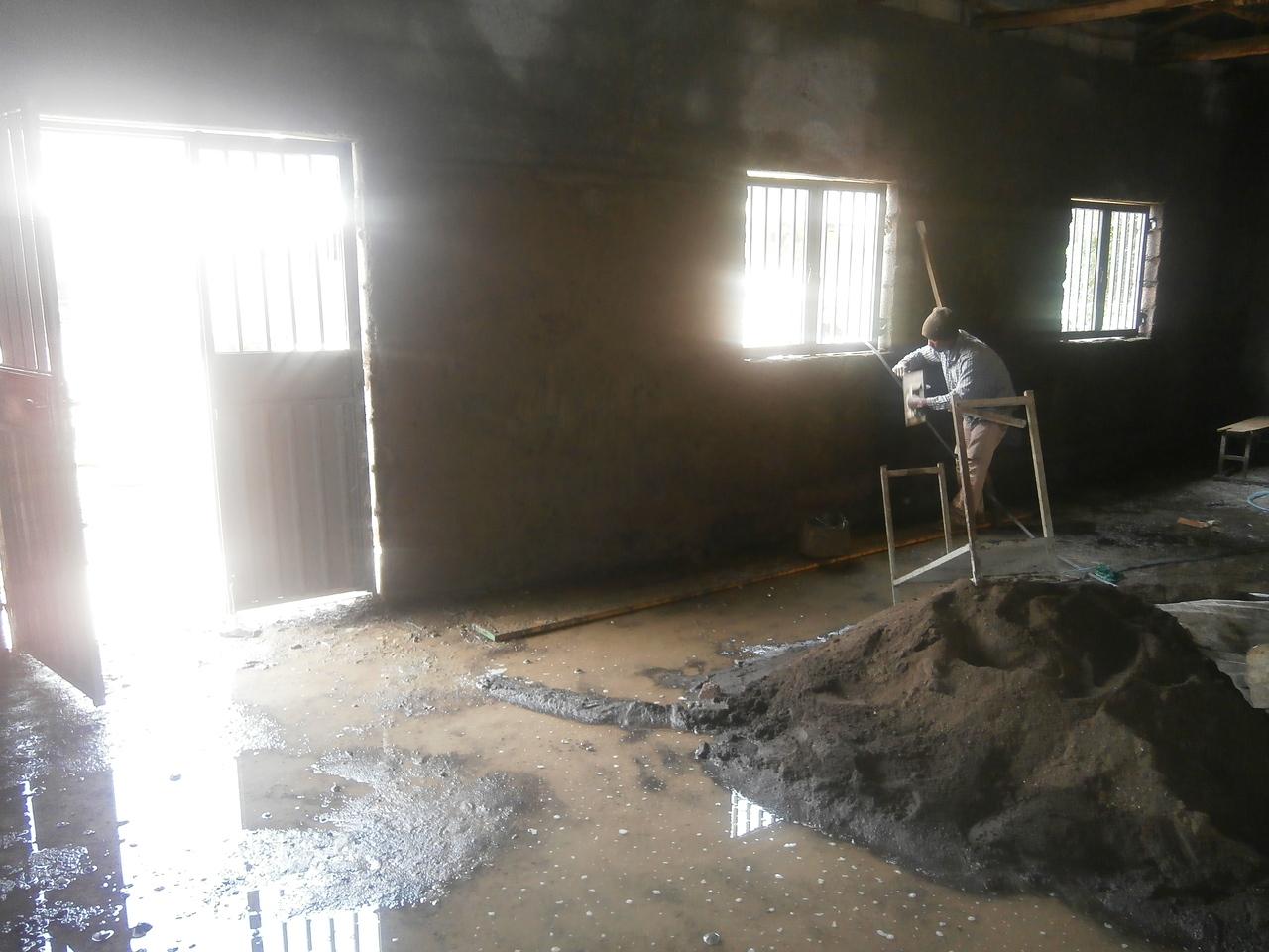 30th June - Internal plastering