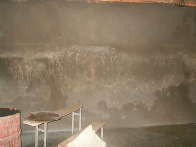 30th June - Internal plastering complete