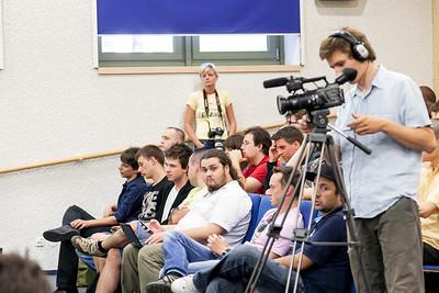 Today's media crew