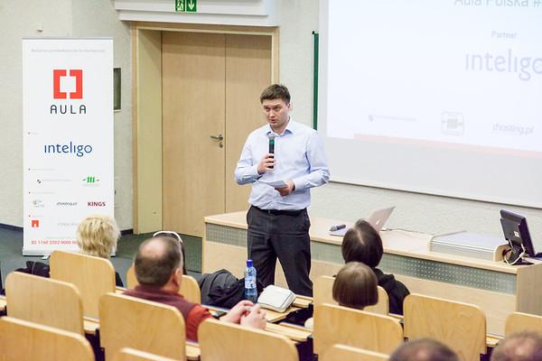 Krzysiek introduces