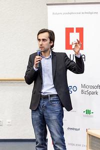 Krzysztof presents