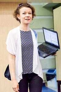 Agnieszka with strips & windows